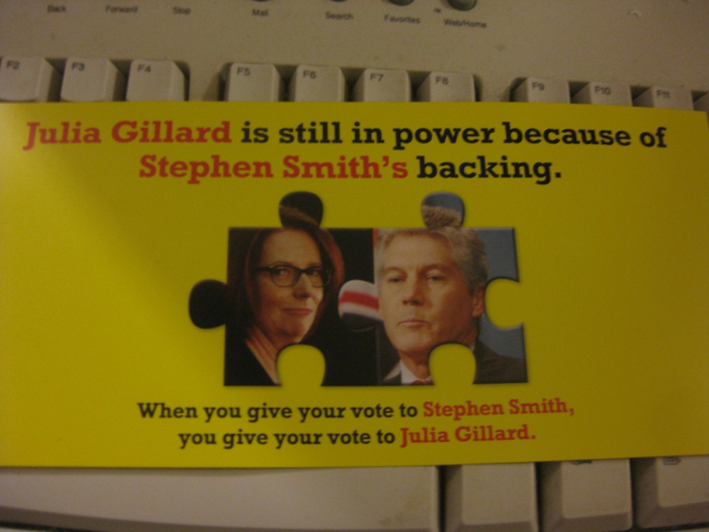 Gillard Still in Power